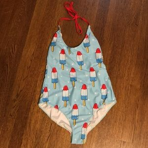 Bomb pop one piece swim